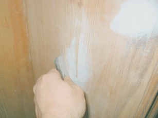 Malervlies Spachteln