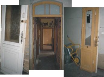 Holzt ren t ren ausbauen und sicherheitst ren einbauen im altbau - Alte zimmerturen mit zarge ...