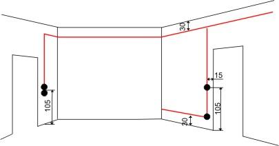 leerrohre verlegen anleitung elektroinstallation in der k che selber machen leerrohre tipps. Black Bedroom Furniture Sets. Home Design Ideas