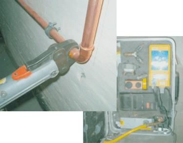 Brennwerttherme installieren