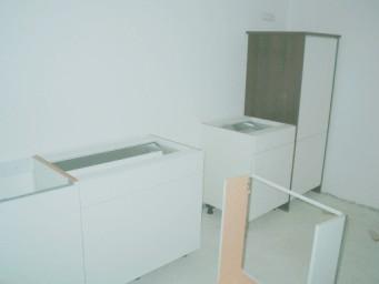 Aufbau einer Einbauküche