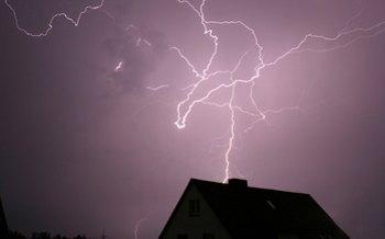 Schutzmaßnahmen gegen Blitzeinschlag