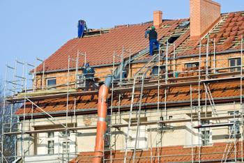 Einbruchgefahr bei der Fassadensanierung