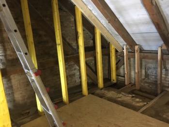 Fachwerk für Dachterrasse