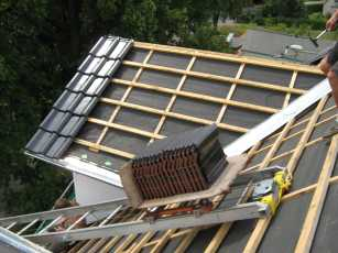 Turbo Dachgaube bauen - mehr Wohnfläche durch Gaube im Dachgeschoss AQ34