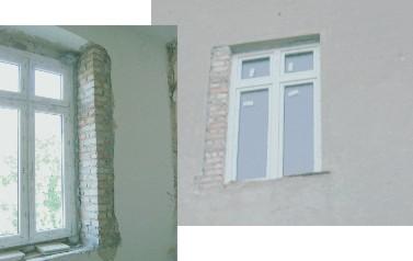 Hervorragend Baustoffhandel: Fensterlaibung verputzen DE55